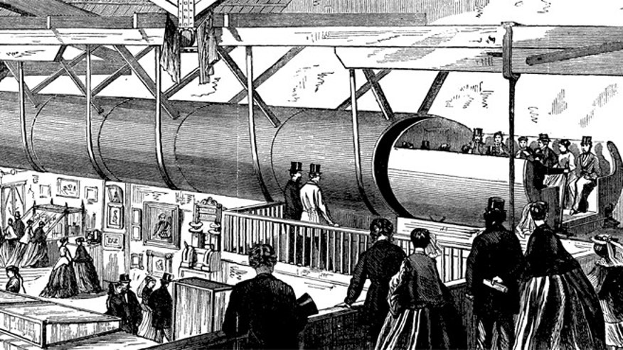Billionaire entrepreneur Elon Musk is set to reveal his plans for a pneumatic tube train system that he says will take passengers from Los Angeles to San Francisco in a mere half hour.