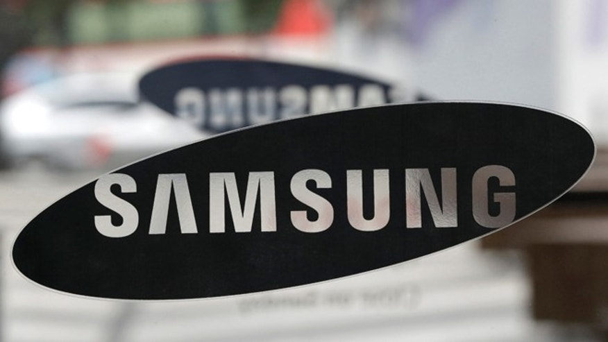 July 5, 2013: Samsung Electronics Co. logo is seen at a showroom of its headquarters in Seoul, South Korea.