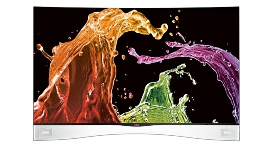 July 23, 2013: The new LG Curved OLED HDTV, the first of its kind in the U.S., goes on sale today.
