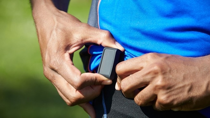 The size of a USB thumb drive, the Withings Pulse can monitor your heart rate without a chest strap.