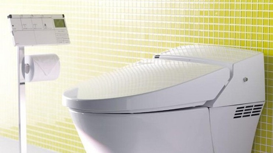 A high-tech Satis toilet from LIXIL.