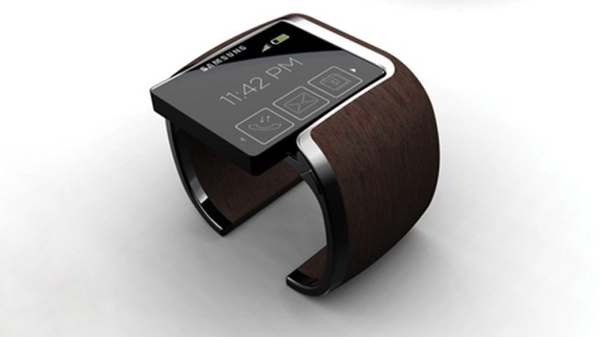 One artist's 2009 concept of what a Samsung smart watch might look like.