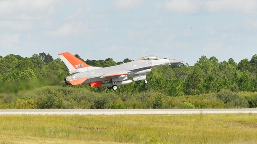 Sept. 19, 2013: Boeing and the U.S. Air Force completed the first unmanned QF-16 Full Scale Aerial Target flight at Tyndall Air Force Base, demonstrating the next generation of combat training and testing.