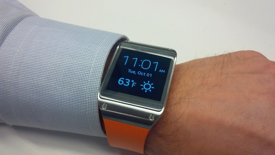 The Samsung Galaxy Gear smartwatch is a vision of the connected future.
