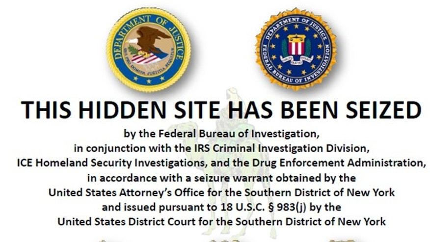 Federal authorities shut down Silk Road, an underground marketplace responsible for distributing illegal drugs and other black market goods and services.