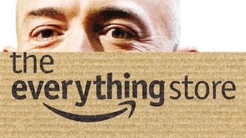 "The cover of the Businessweek reporter Brad Stone's new book, ""The Everything Store: Jeff Bezos and the Age of Amazon."""