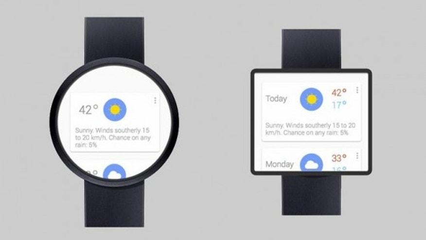 Artist Adrian Maciburko's concept of the unreleased Google smartwatch.