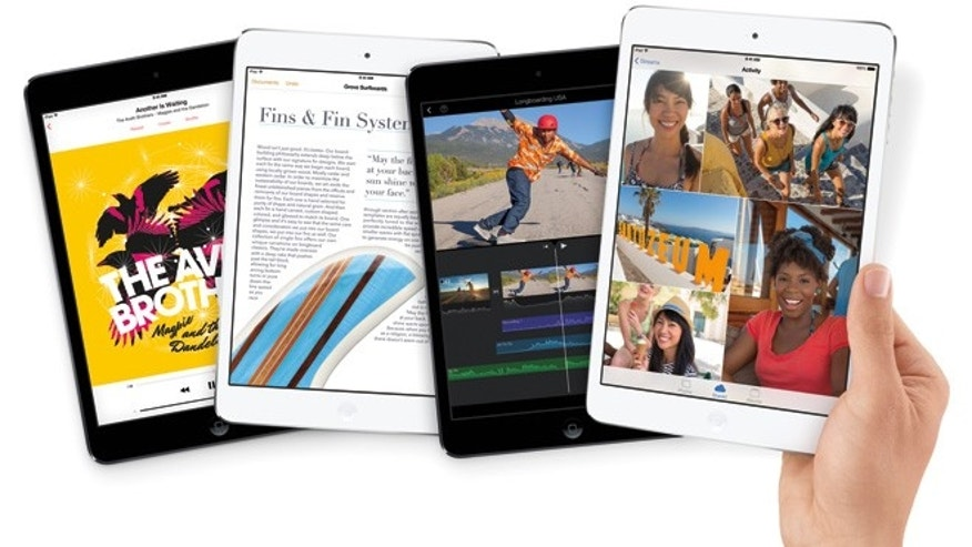 The new Apple iPad Mini with Retina Display.