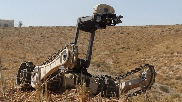 Designed by the Israeli Roboteam company, the Micro Tactical Ground Robot is a stair-climbing micro robot to deploy on special operations missions.
