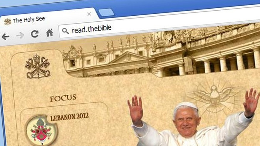 Could the Vatican control the .bible domain name?