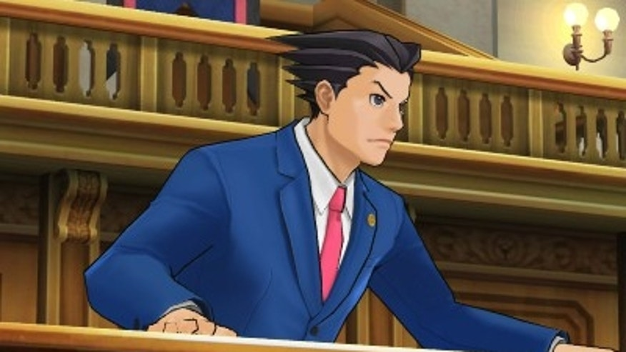 A character from the video game Ace Attorney: Phoenix Wright  Dual Destinies.