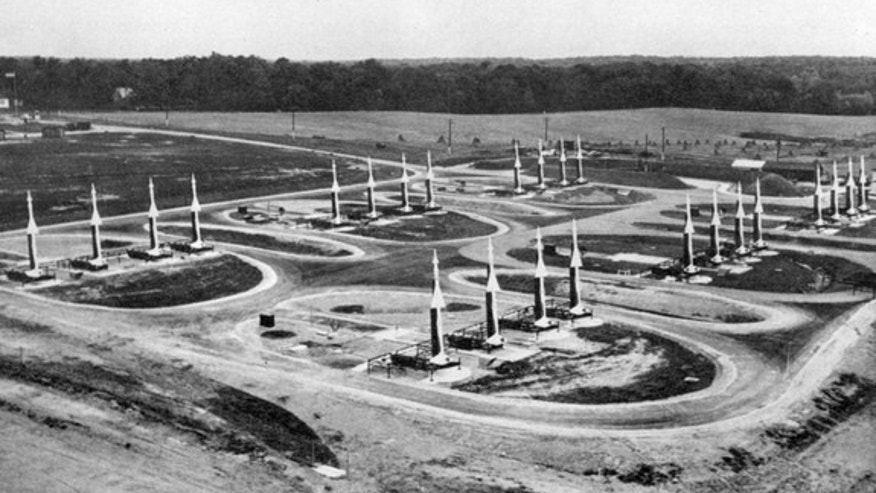 One of the first operational Nike missile sites was in Lorton, Va. Construction began in March 1954, and the site was operational in 1955.