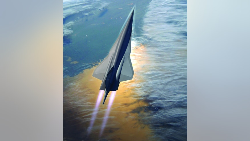 The Skunk Works SR-72 design  a hypersonic aircraft developed to execute Intelligence, Surveillance and Reconnaissance and strike missions at speeds up to Mach 6.