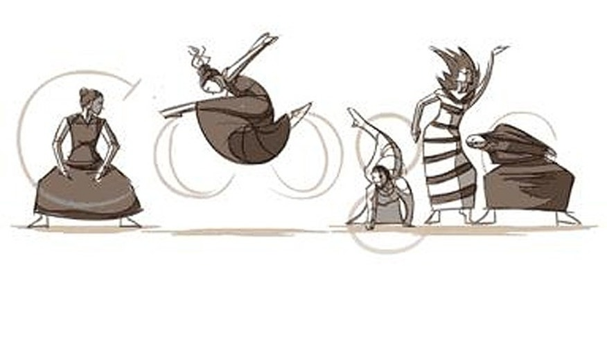 How do you fit seven decades of American innovation into 15 seconds? That was the challenge Google faced for this 2011 Doodle to celebrate Martha Graham's birthday.