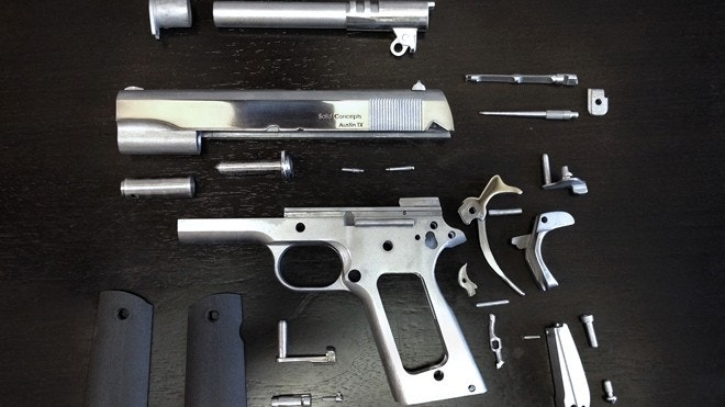 Texas firm makes world's first 3D-printed metal gun