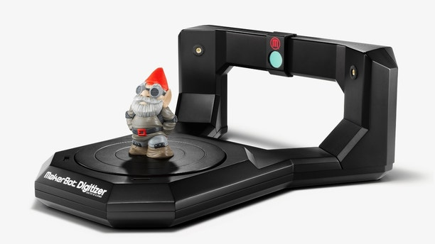 The MakerBot Digitizer 3D desktop scanner, which went on sale earlier this year.