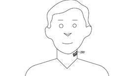 """Google-owned Motorola has received a patent for a smartphone-connected system """"that comprises an electronic skin tattoo capable of being applied to a throat region of a body."""""""