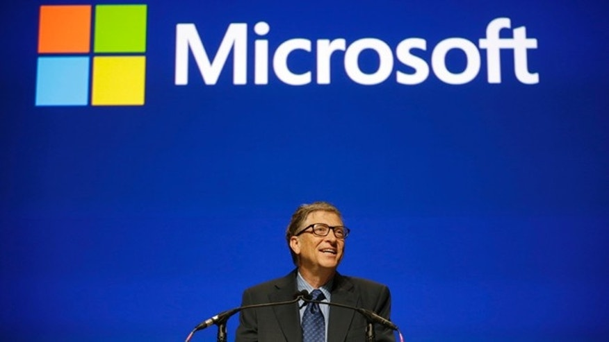 Nov. 19, 2013: Microsoft chairman Bill Gates speaks at the company's annual shareholders meeting in Bellevue, Wash.