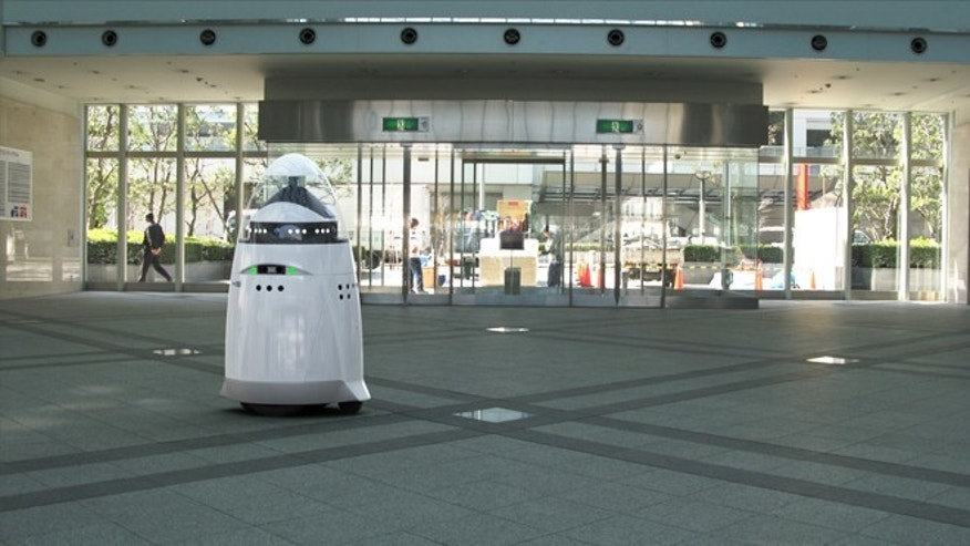 300 pound robot is new breed of crime fighting machine