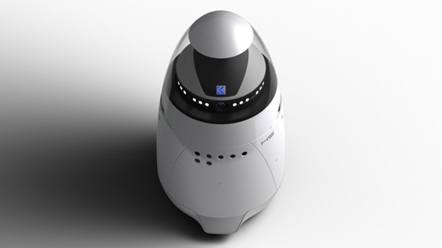The K5 Autonomous Data Machine is intended to augment private security services on corporate campuses and in large, vacant buildings and warehouses, according to its developer.