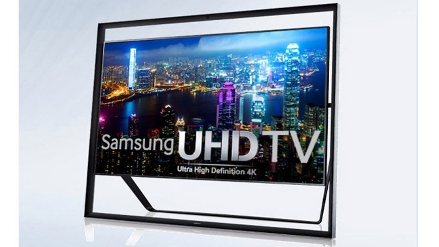 Samsung's new $39,998 LED TV.