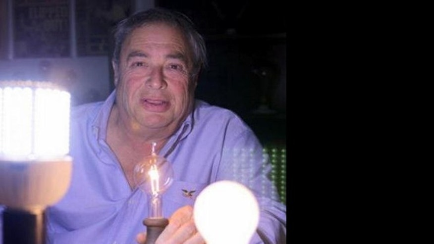 Larry Birnbaum is the creator of the Newcandescent, an incadescent lightbulb that skirts a 2007 law banning the manufacture of traditional bulbs.