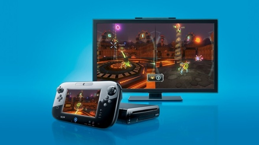 The Nintendo Wii U entertainment console.