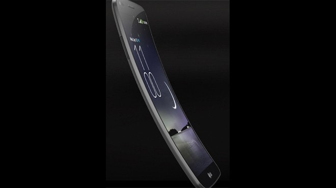 LG G Flex has a 6-inch display that bends and heals itself