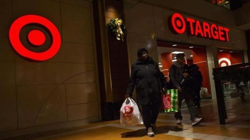 November 29, 2013: People shop at a Target store during Black Friday sales in the Brooklyn borough of New York (REUTERS/Eric Thayer/File)