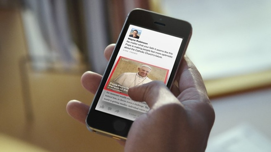Paper, a new mobile app from Facebook, sorts the site's content into sections and overhauls the look and feel of posts.