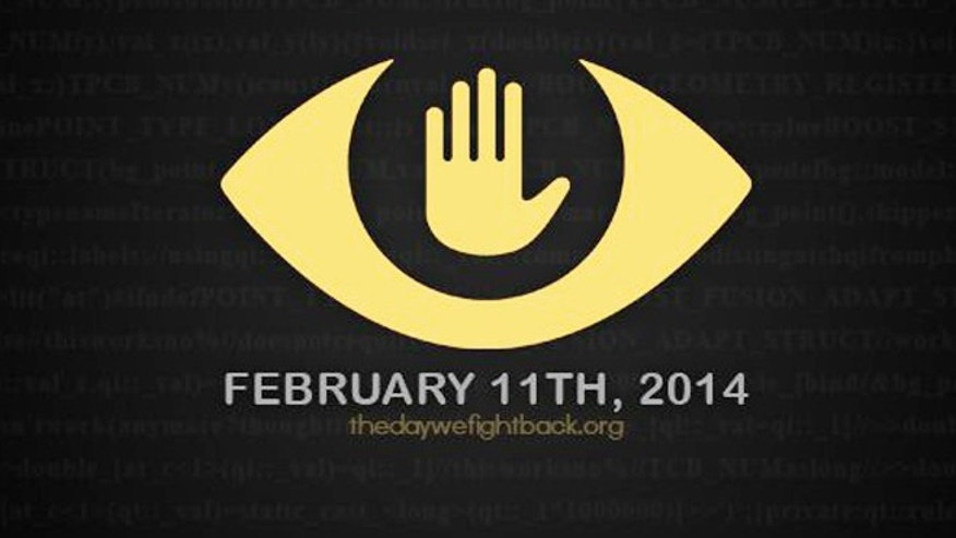 Feb. 11, 2014: Over 5,000 Web sites are joining in a protest called The Day We Fight Back. Participants are posting banners in support and encouraging people to contact their government representatives to support legislation that would curb government spying.