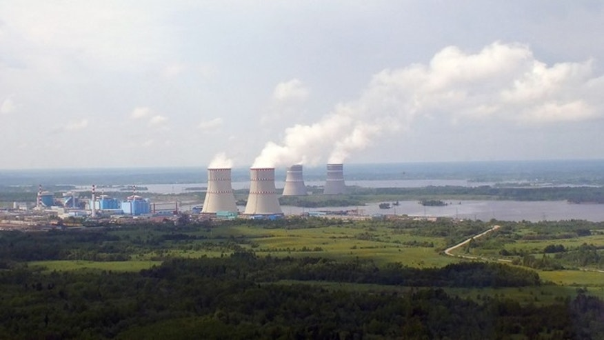 The Kalinin nuclear power plant in Russia.