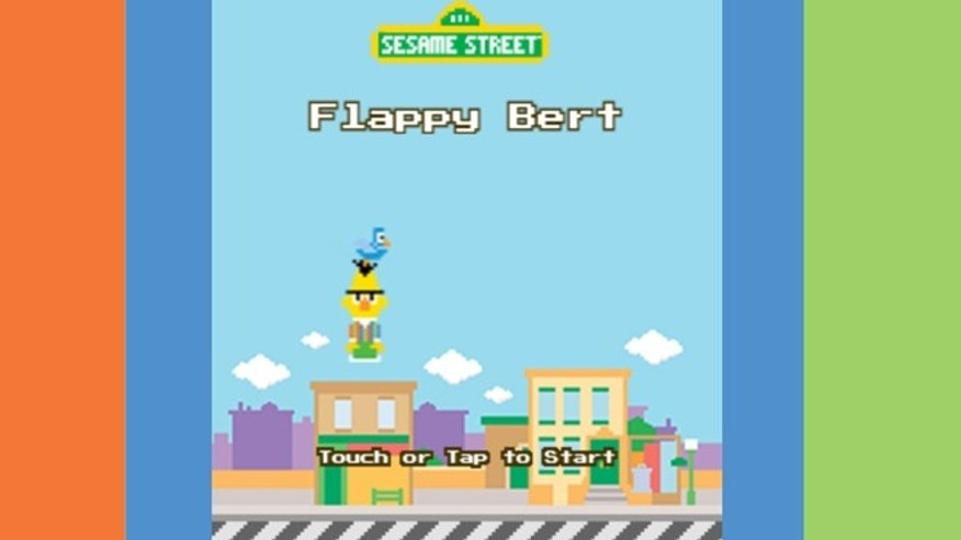 "Children's Television Workshop has released a ""Flappy Bird"" clone, called (unsurprisingly) ""Flappy Bert."""