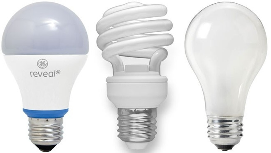 Light bulbs have evolved from the standard incandescent (right) to compact fluorescents and now LEDs (left), which come in a variety of shapes -- some quite familiar in appearance.