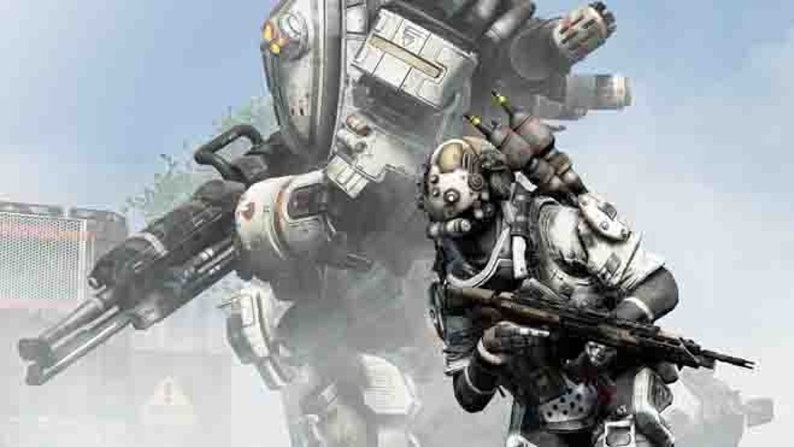 "A scene from ""Titanfall,"" a promising new game for the Xbox and Windows PCs."
