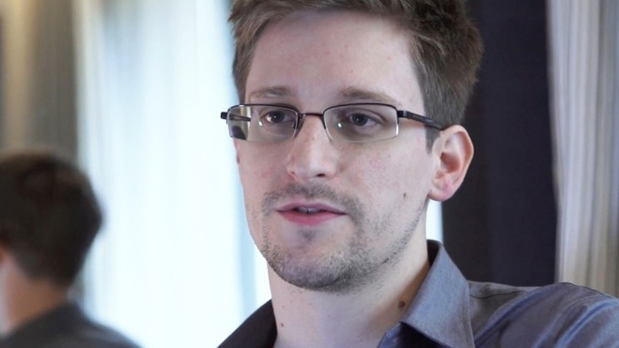 Whisleblower Edward Snowden, who worked as a contract employee at the National Security Agency, seen in a June 9, 2013, photo in Hong Kong.