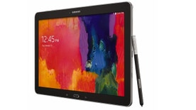 The Samsung Galaxy Note Pro, a business-focused, Android-powered tablet with a hefty pricetag.