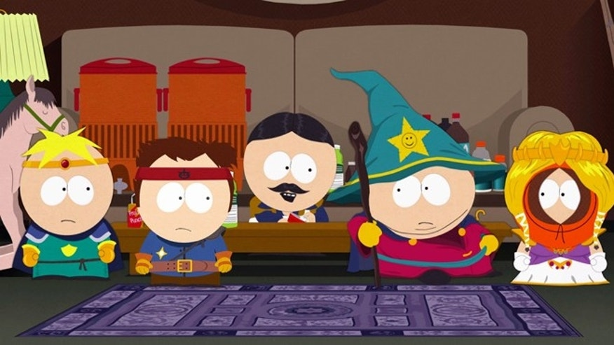 "A scene from the new videogame ""South Park: The Stick of Truth,"" which may be the game fans of the show have long been waiting for."