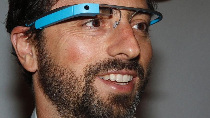 "Google founder Sergey Brin poses for a portrait wearing Google Glass glasses before the Diane von Furstenberg  Spring/Summer 2013 collection show during New York Fashion Week September 9, 2012. The show was used as a launching event for Google's new product ""Glass by Google"". REUTERS/Carlo Allegri (UNITED STATES - Tags: FASHION SCIENCE TECHNOLOGY BUSINESS) - RTR37QZY"