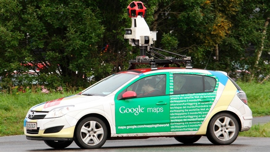A Google Street View car is driven in Sundsvall, northern Sweden September 13, 2011.