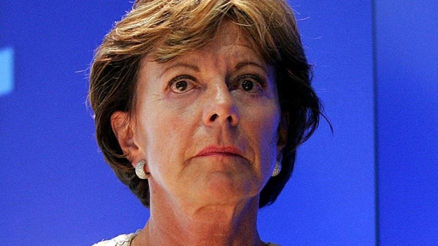 European Commission Vice President Neelie Kroes.