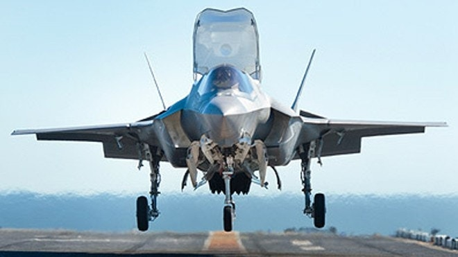 F-35 fighters plagued with delays, cost overruns, federal report says