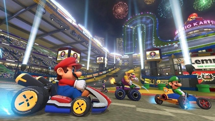 "Nintendo's famous ""Mario Kart"" returns with its eighth installment, due out for the Wii U in May."