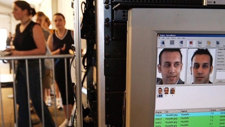 Facial recognition technology is used to screen people before they visit the Statue of Liberty in New York.