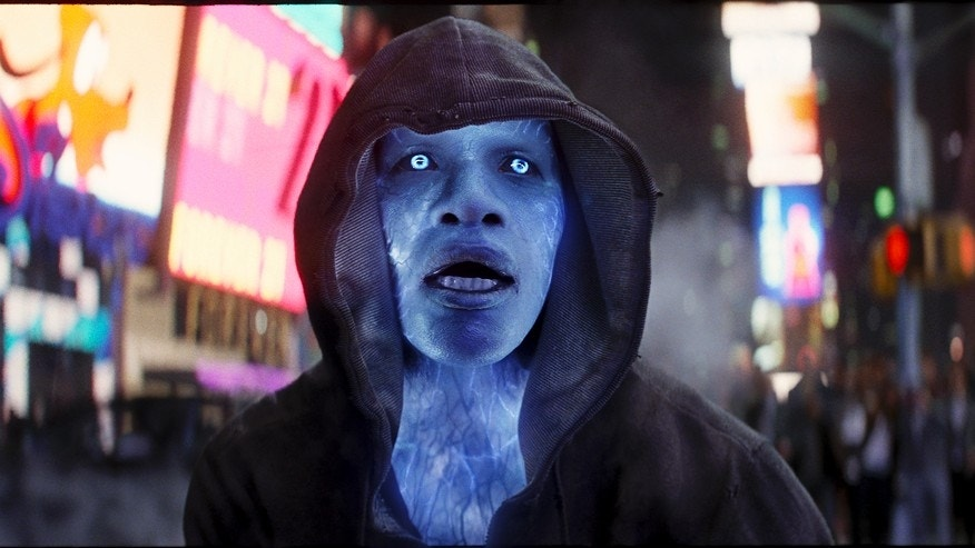 "Jamie Foxx stars as Electro in Columbia Pictures' ""The Amazing Spider-Man,"" also starring Andrew Garfiled and Emma Stone."