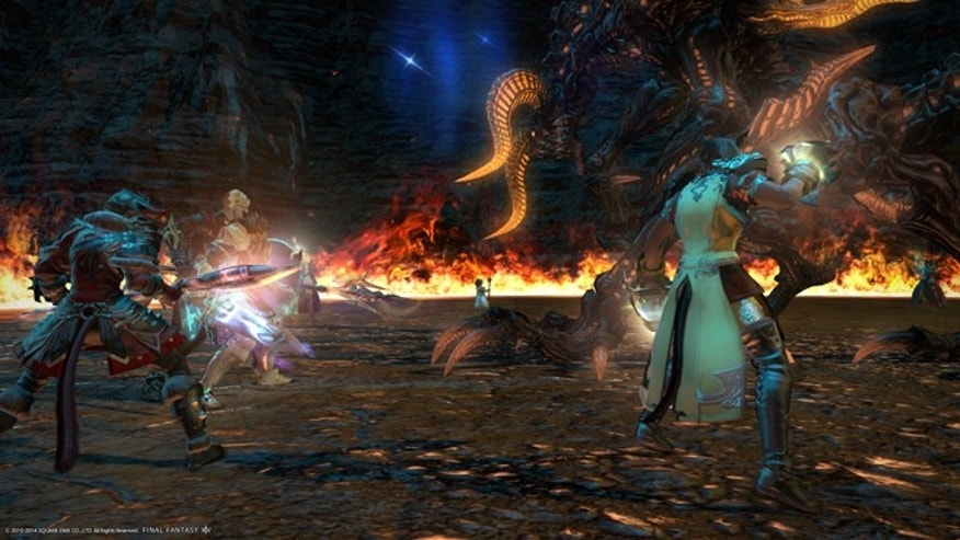 "FILE: A still image from ""Final Fantasy XIV: A Realm Reborn."""
