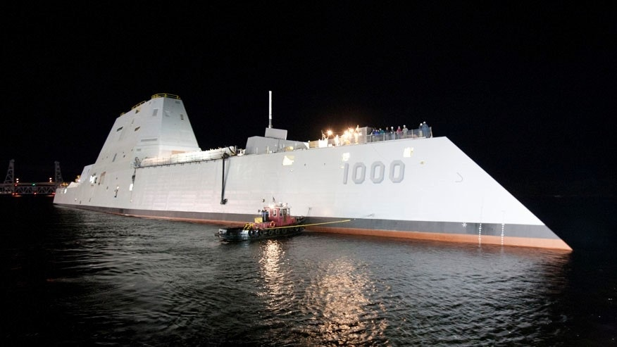 Spinel windows can have applications as electro-optical/infrared deckhouse windows in the new class of U.S. Navy destroyers, like the USS Elmo Zumwalt pictured above, that feature a low radar signature compared with current vessels.