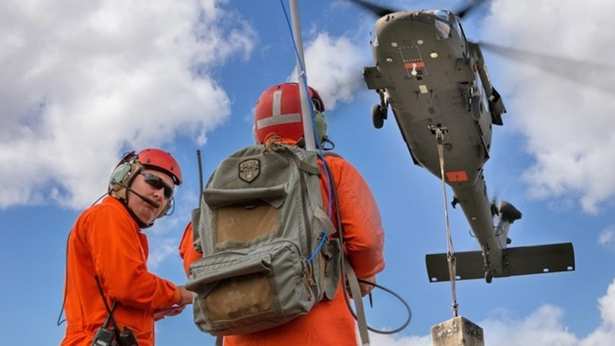 An unmanned Black Hawk helicopter could one day deliver cargo autonomously.
