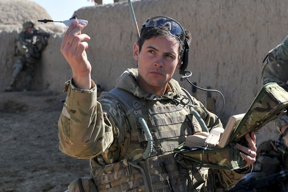 Tiny drones deploy for US allies