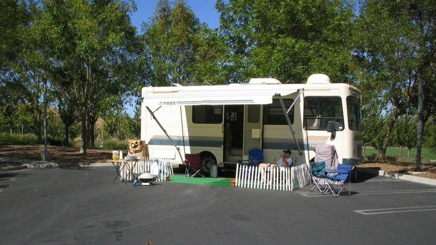 Matthew Weaver lived in a camper parked on Google's Mountain View, California campus for 54 weeks.